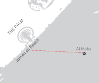 Dubai Strand & Woestijn combi