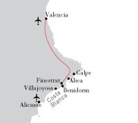 Valencia - Costa Blanca Combi
