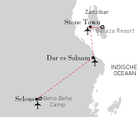 Tanzania - Zanzibar combi