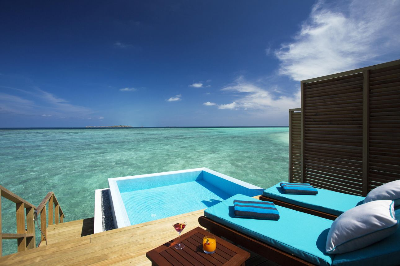 Water Pool Bungalow