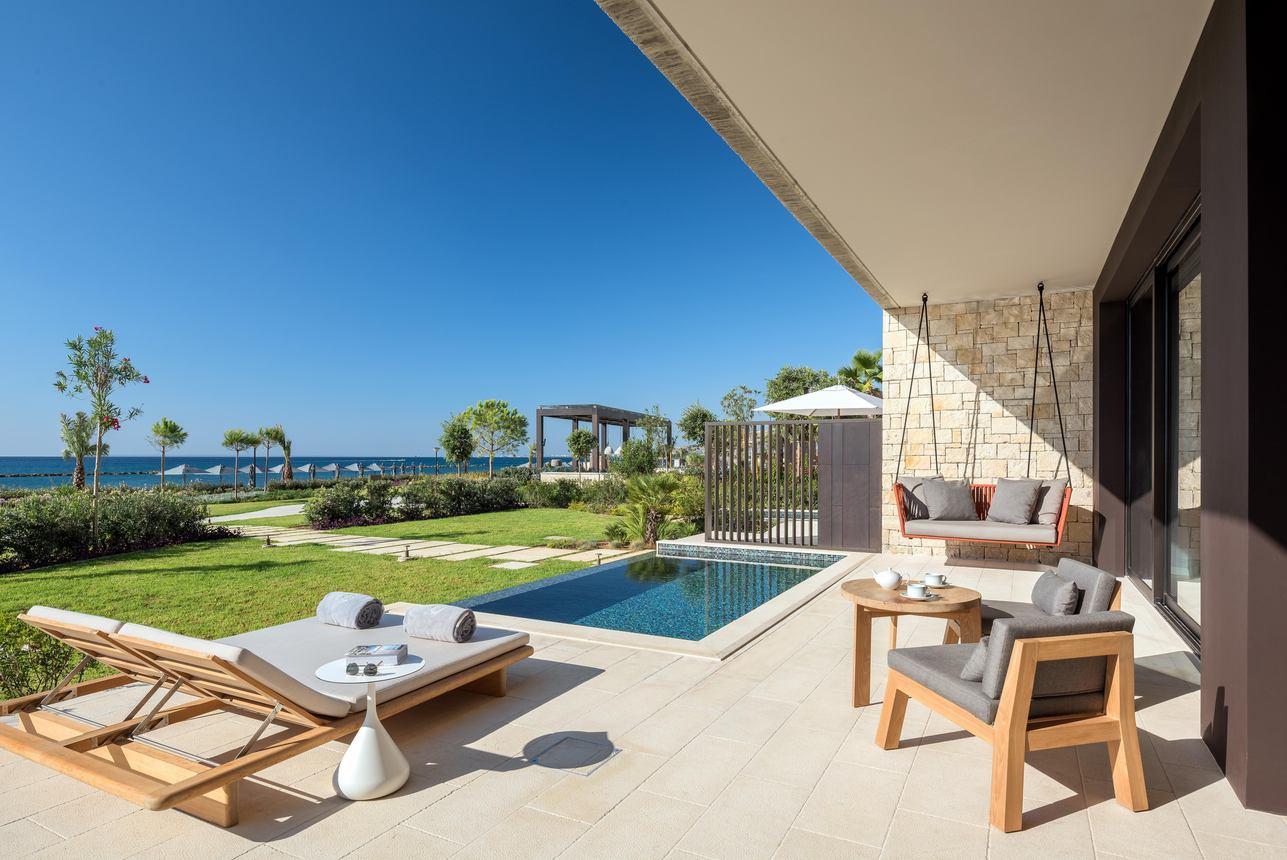Cabana 2- Slaapkamers met Zwembad