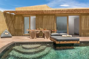 Villa 2 slaapkamers met zwembad