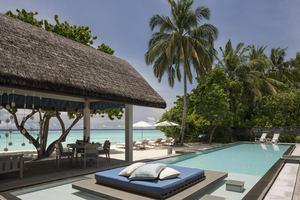 2-slaapkamer Oceanfront Bungalow