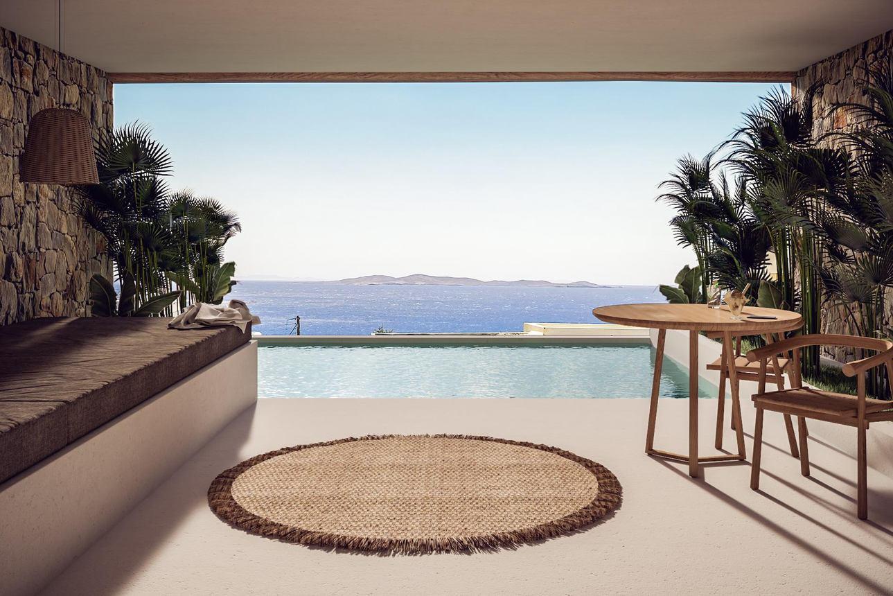 Superior Suite zeezicht privézwembad