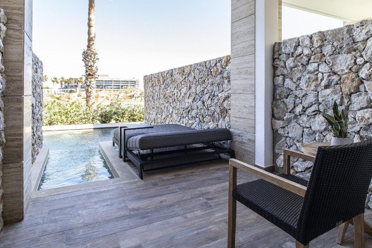 Deluxe Suite gedeeld zwembad