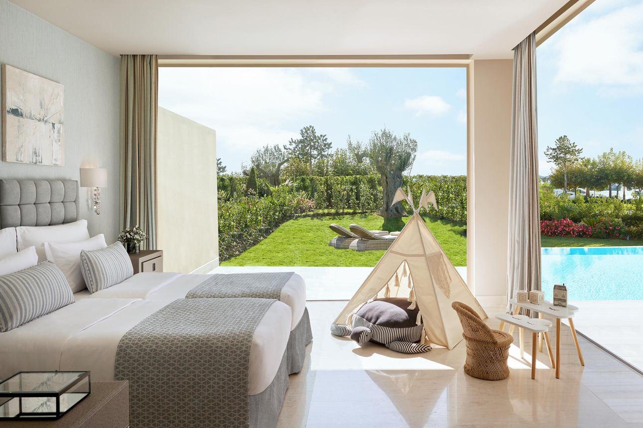 Family Pool Suite - 3 slaapkamers Tuinzicht