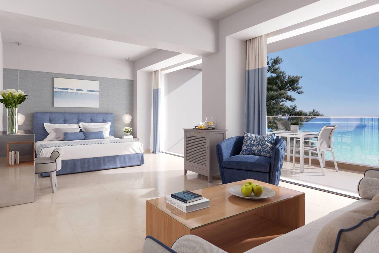 Panorama Junior Suite zeezicht met terras