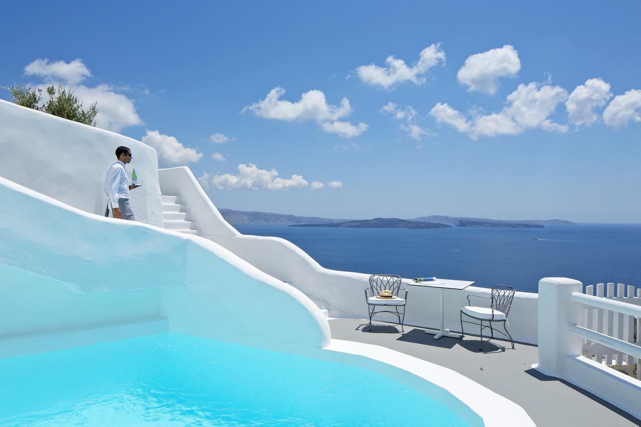 Master Suite met zwembad