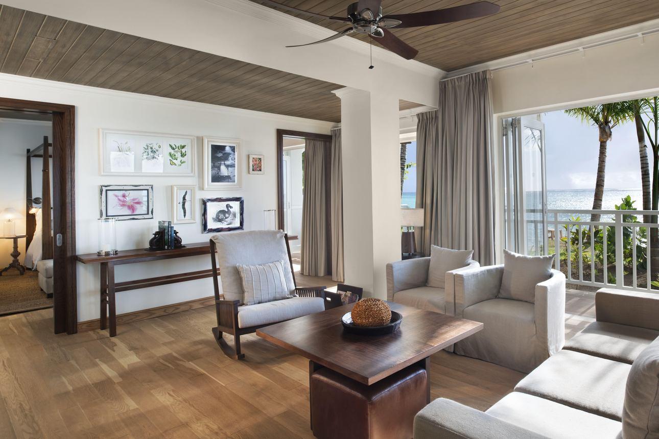 Beachfront St. Regis Suite (begane grond)