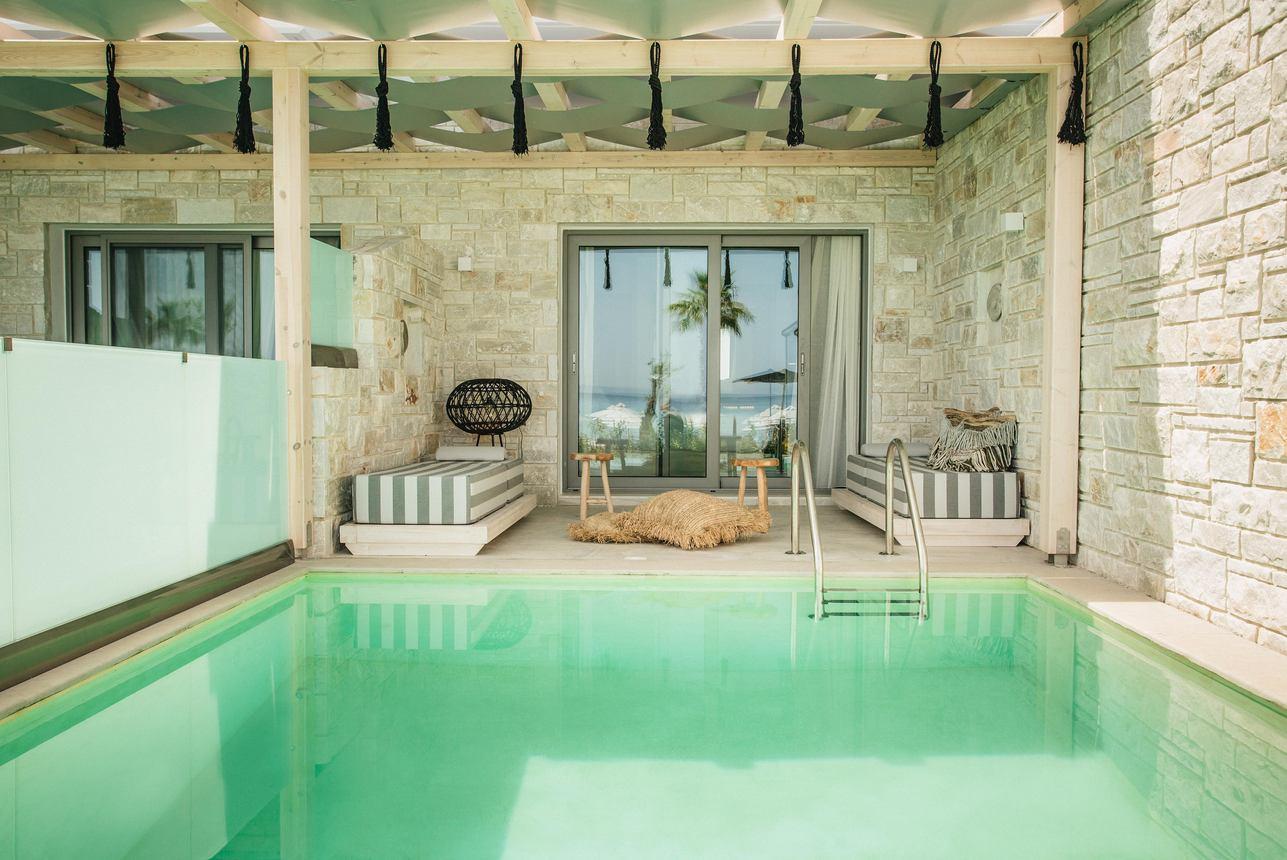 Tweepersoons Suite privézwembad Zeezicht
