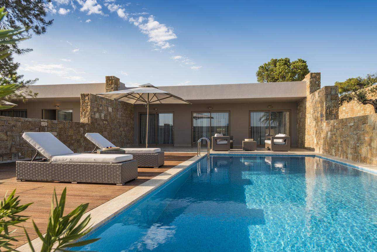 Deluxe Bungalow Pool Suite - 2 slaapkamers tuinzicht