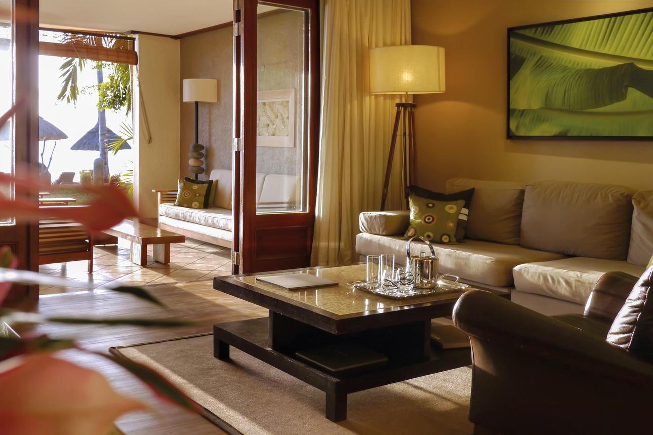 Deluxe Beachfront Family Suite