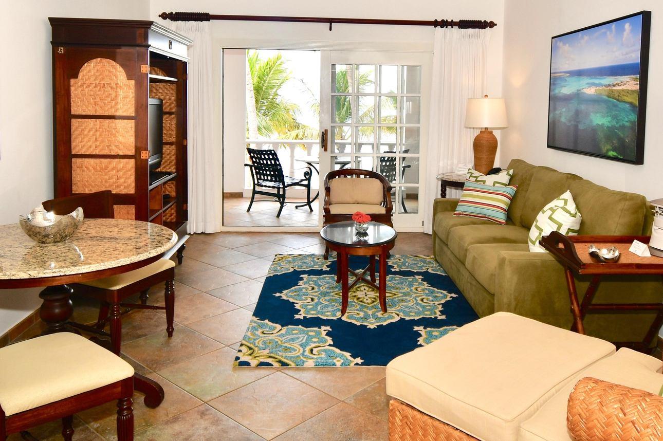 2-slaapkamer Beachfront Suite 1e verdieping