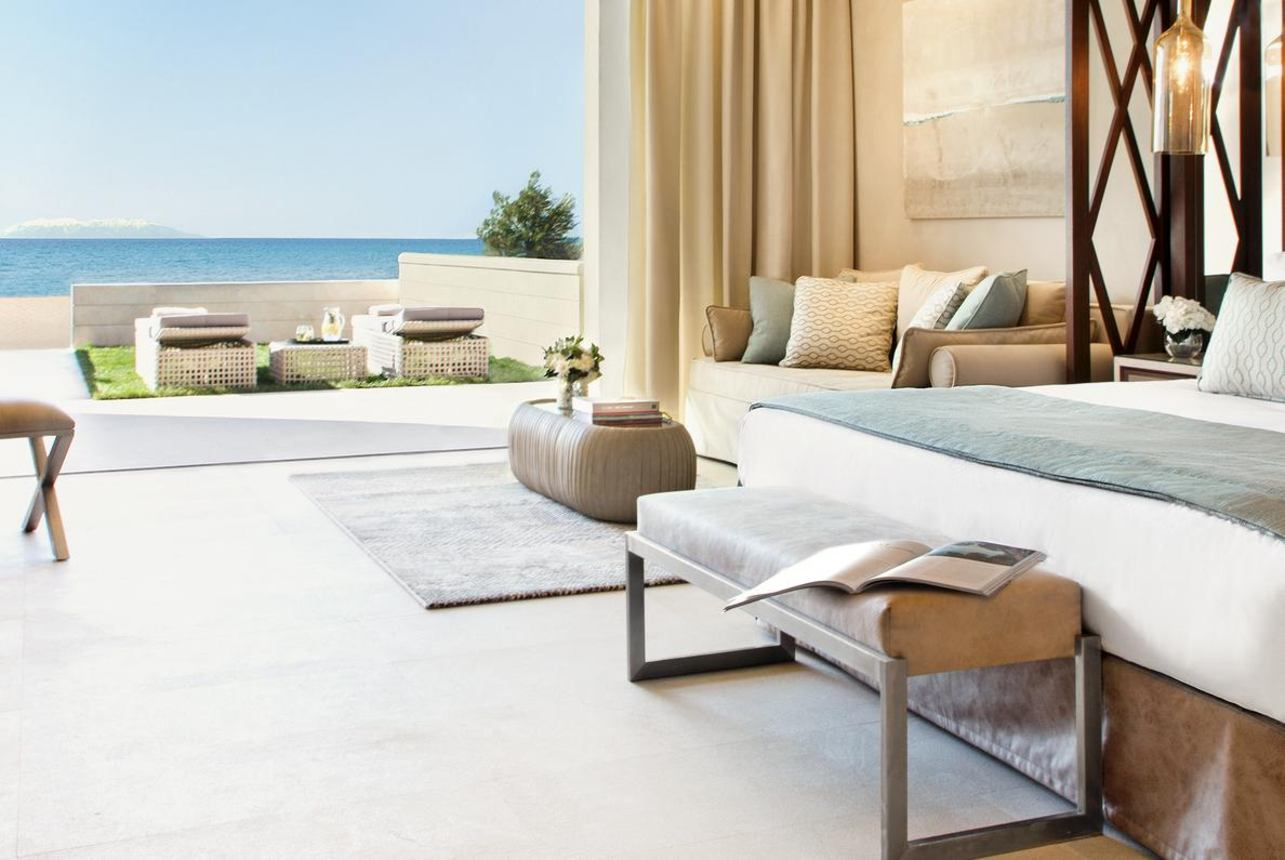 Deluxe Family Suite Beachfront met terras