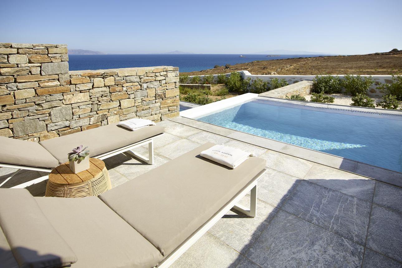 Summer Suite met zwembad