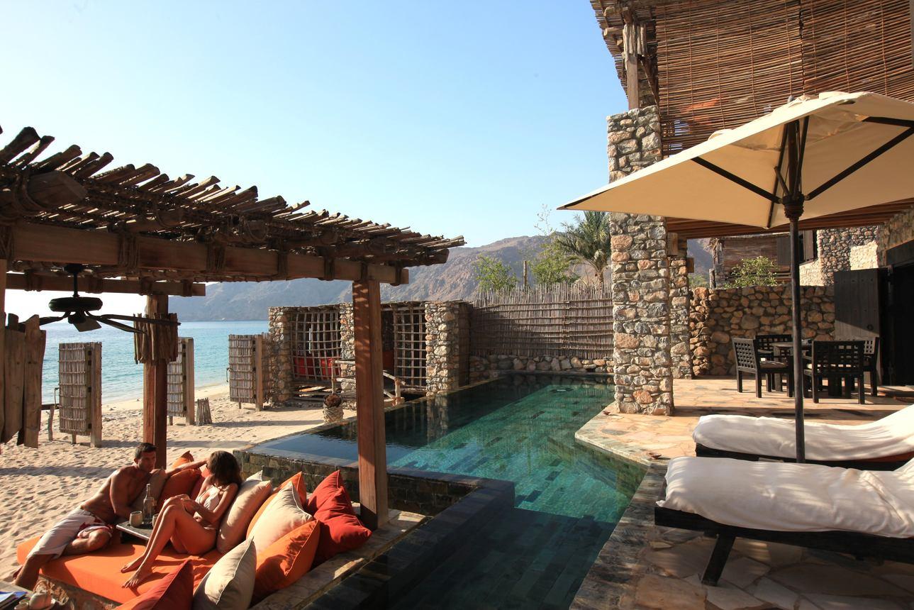 Duplex Pool Villa Suite Beachfront 2-slaapkamers