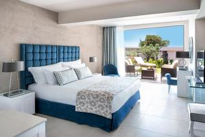 Bungalow Suite met tuin - 1 slaapkamer tuinzicht