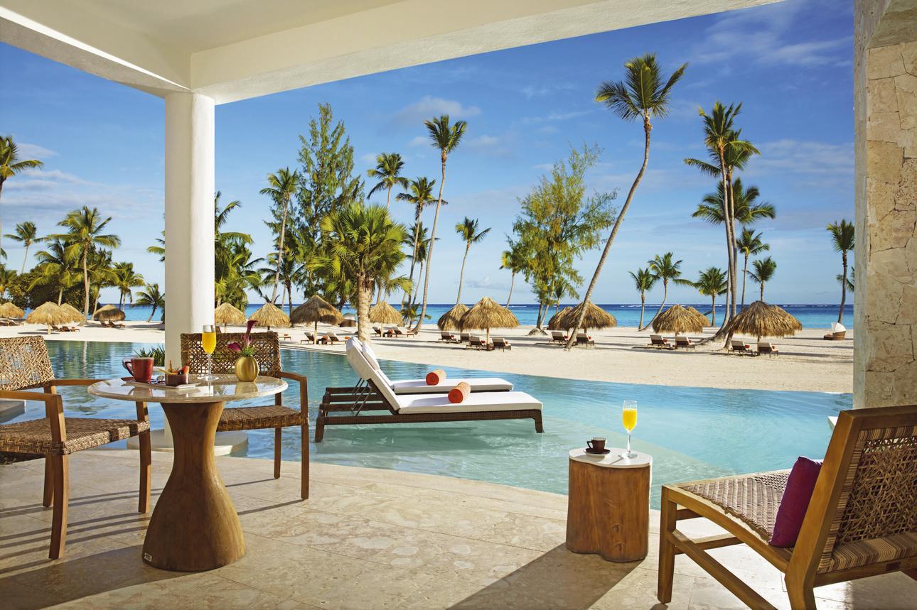 Preferred Club Bungalow Suite Swim-out Frontaal Zeezicht