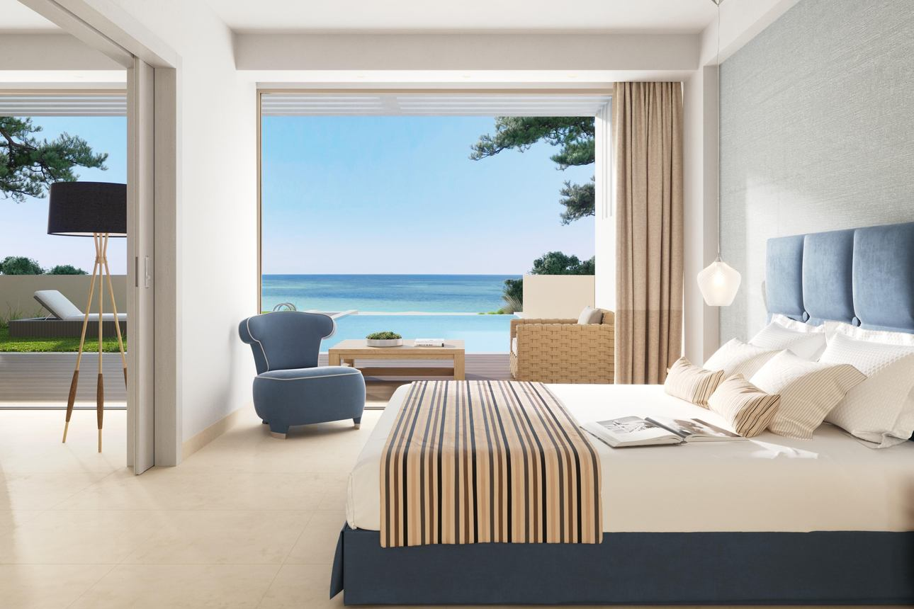 Deluxe Pool Suite - 2 slaapkamers
