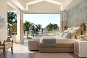 Family Suite - 2 slaapkamers Zwembadzicht