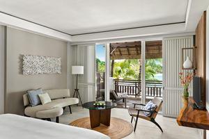 Frangipani Suite - 1 slaapkamer Strandtoegang