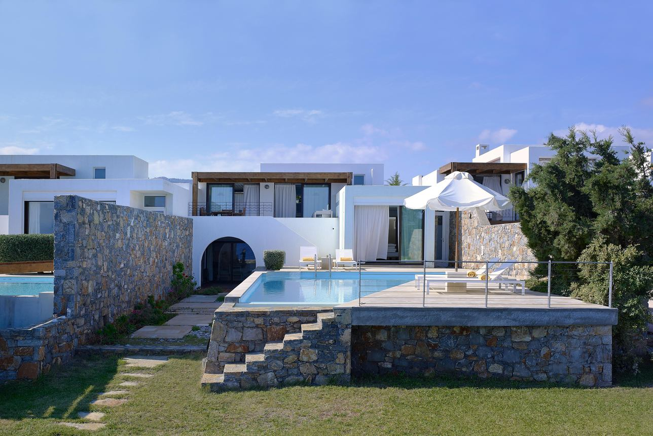 Thalassa Pool Villa 3 slaapkamers Seafront