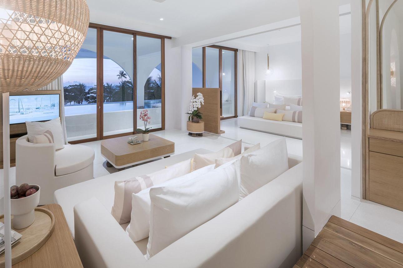 Oceanfront Pool Suite - 1 slaapkamer