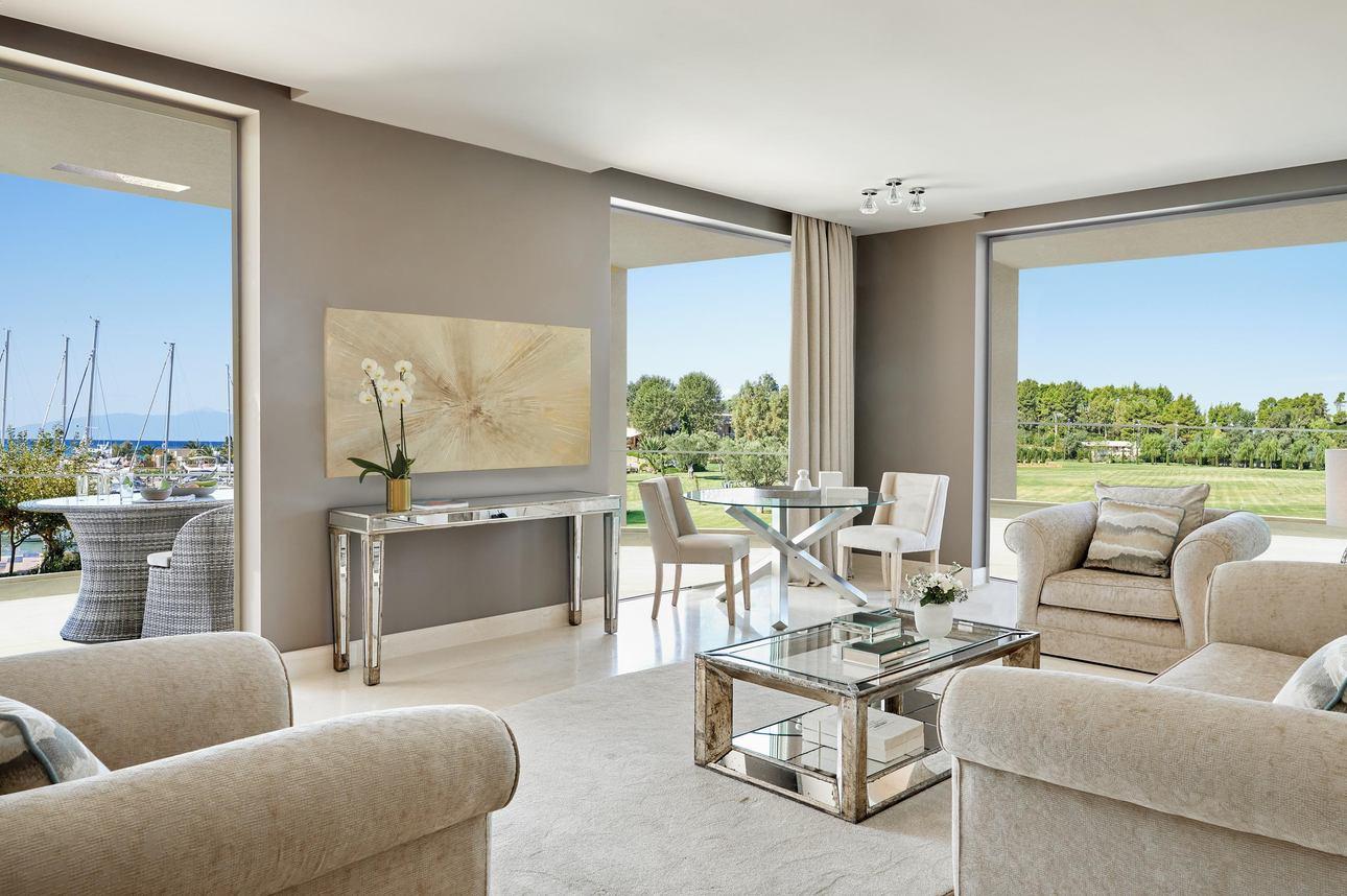 Family Grand Balcony Suite - 3 slaapkamers Tuinzicht