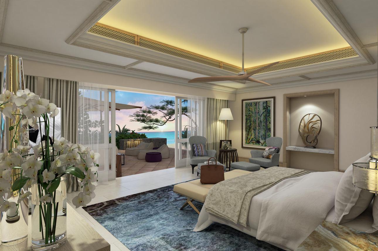 2-slaapkamer Beach Front Suite