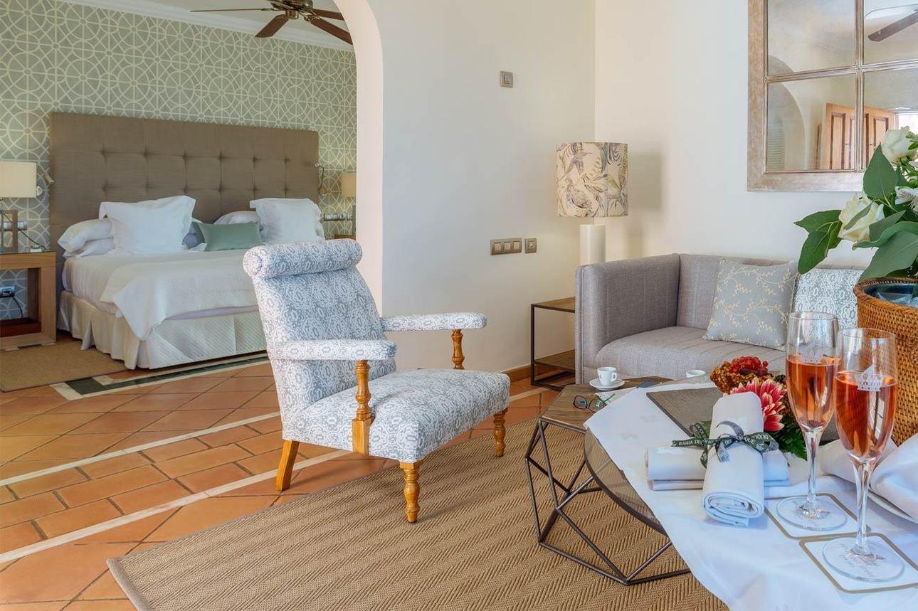 Tweekamer Suite Tuinzicht