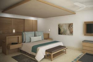 Preferred Club Master Suite Frontaal Zeezicht met plungepool