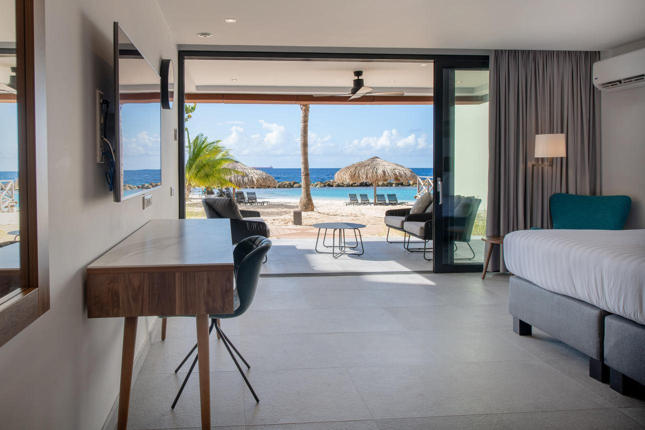 Beachfront 1-slaapkamer Appartement