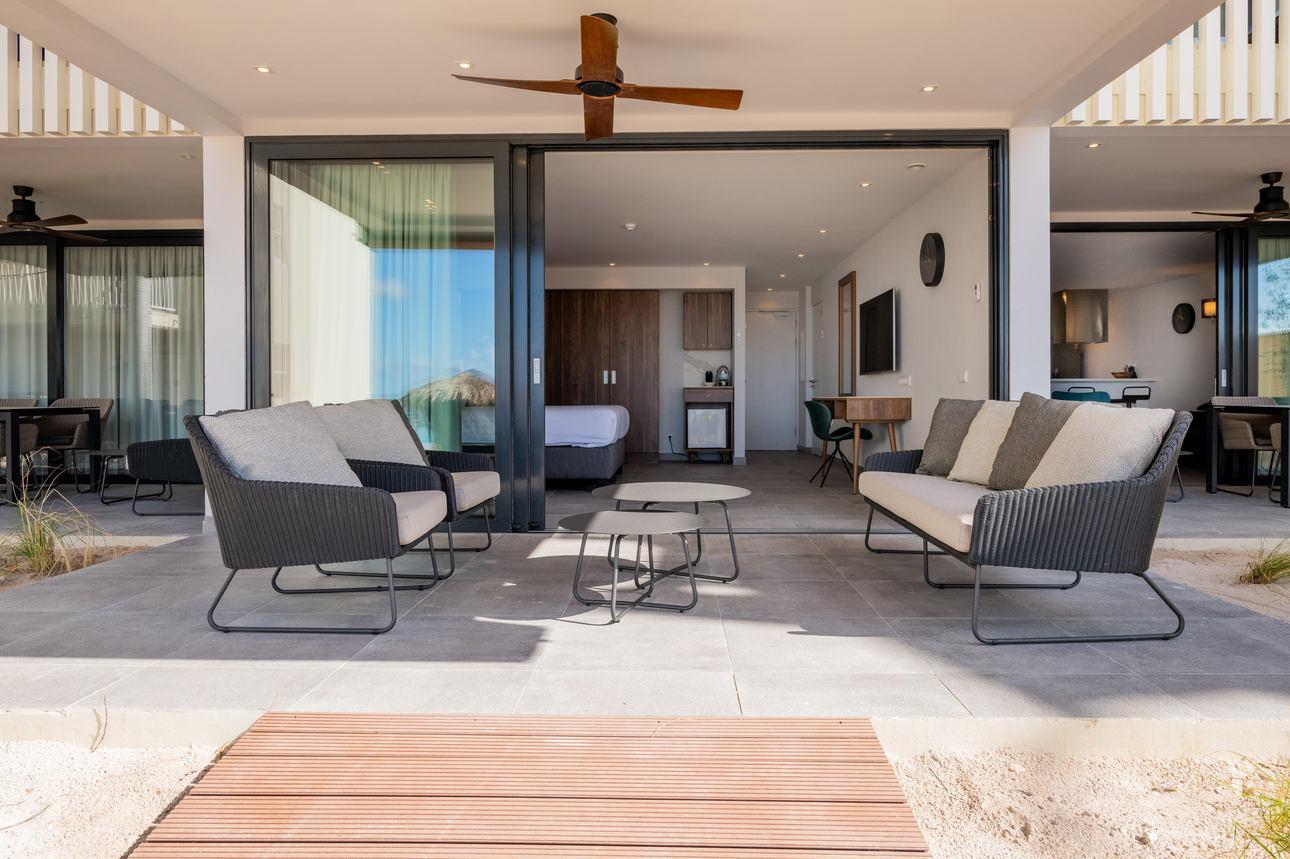 Beachfront 3-slaapkamer Appartement