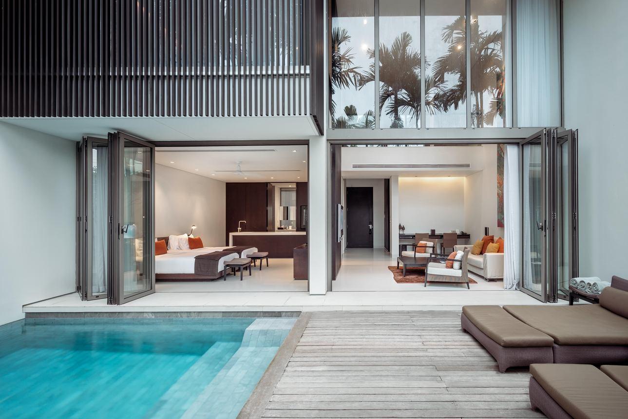 Duplex Pool Suite - 2 slaapkamers