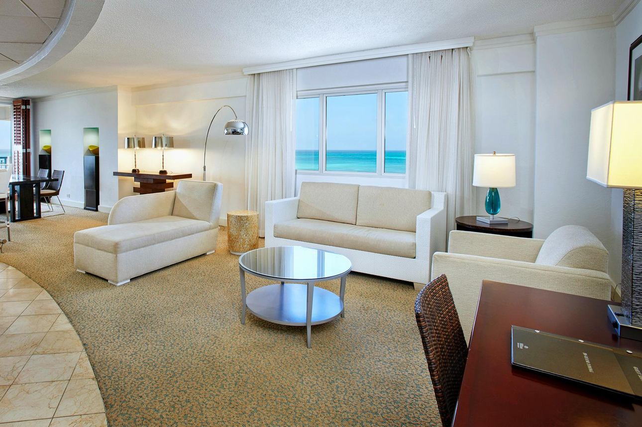 Aruba Tower Oceanfront Suite