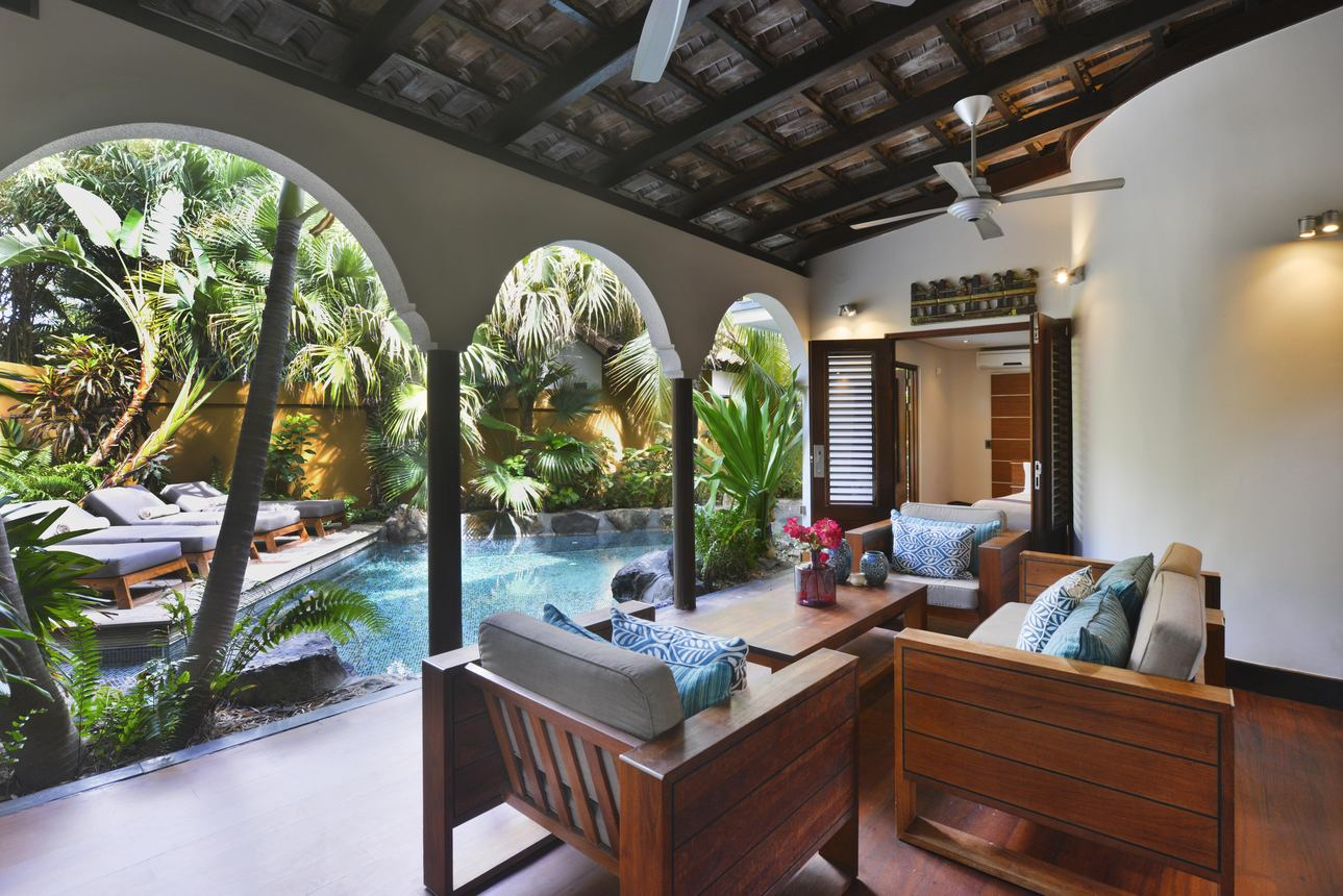 Romantic Pool Suite
