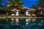 Villa zwembadzicht