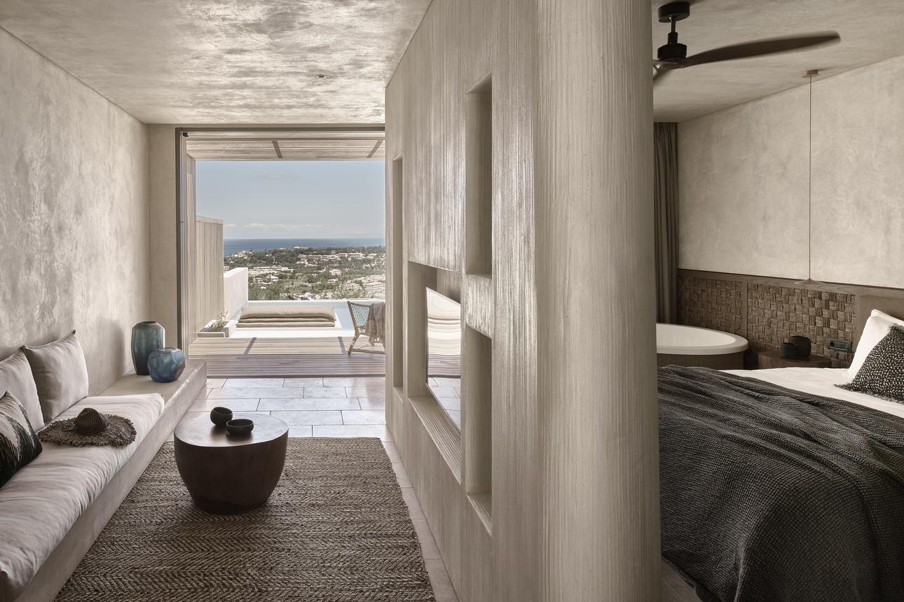 Honeymoon Suite Private Pool Zeezicht