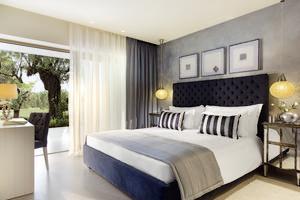 Deluxe Bungalow Suite - 1 slaapkamer met tuin en zwembadzicht