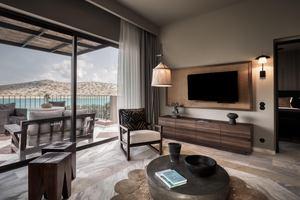 Premium Suite 1 slaapkamer jacuzzi zeezicht