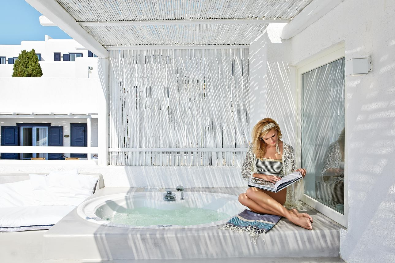 Luxury Bungalow met Jacuzzi