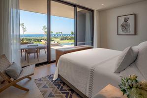 Cabana 1- Slaapkamer met Zwembad