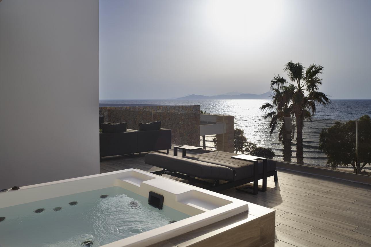 Premium Rooftop Suite met jacuzzi