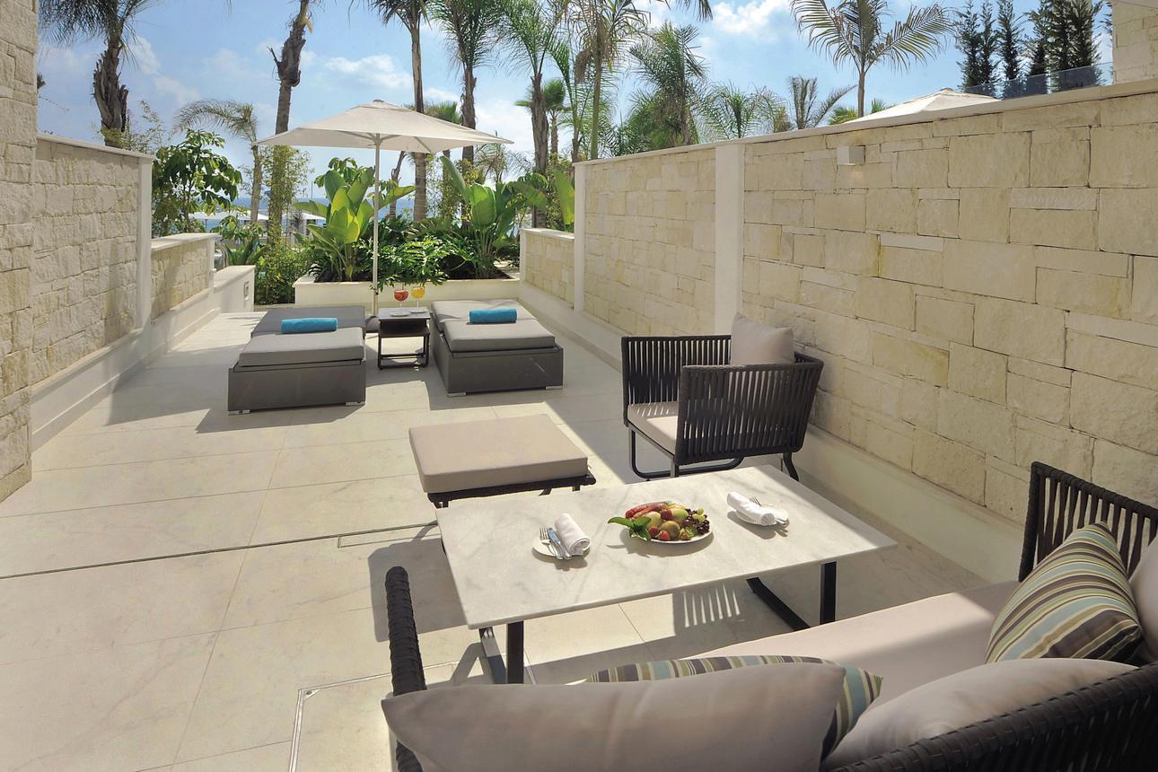 Superior Cabana met privétuin