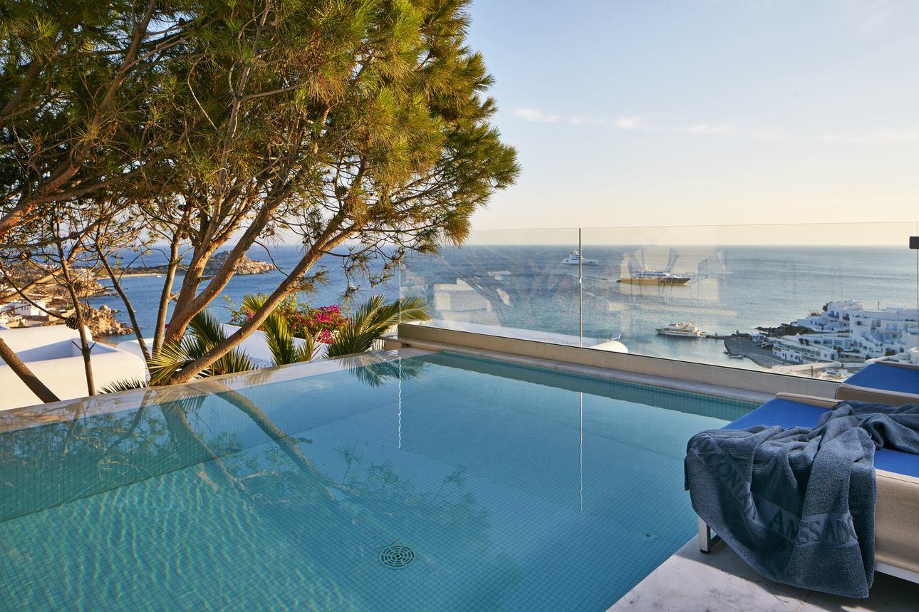 True Blue Kamer met privézwembad