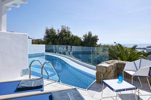 Thalassa Suite met gedeeld zwembad
