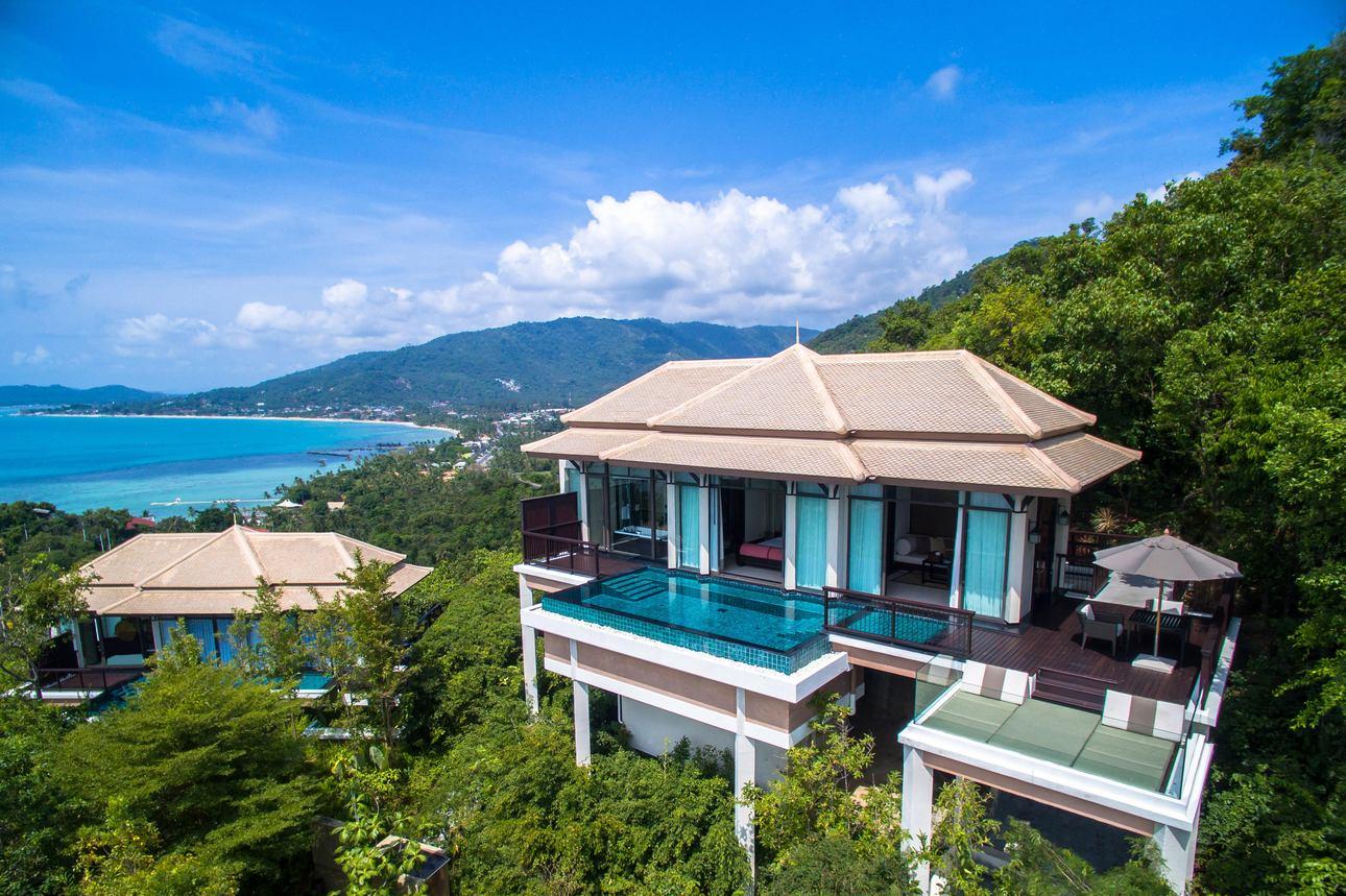 Horizon Hillcrest Ocean Pool Villa