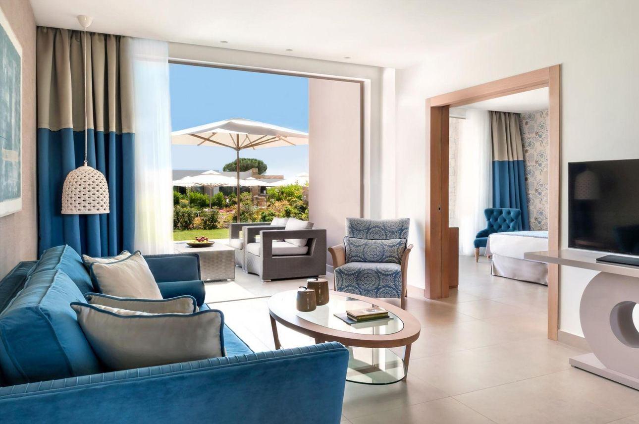 Deluxe Bungalow Suite - 2 slaapkamers met tuin