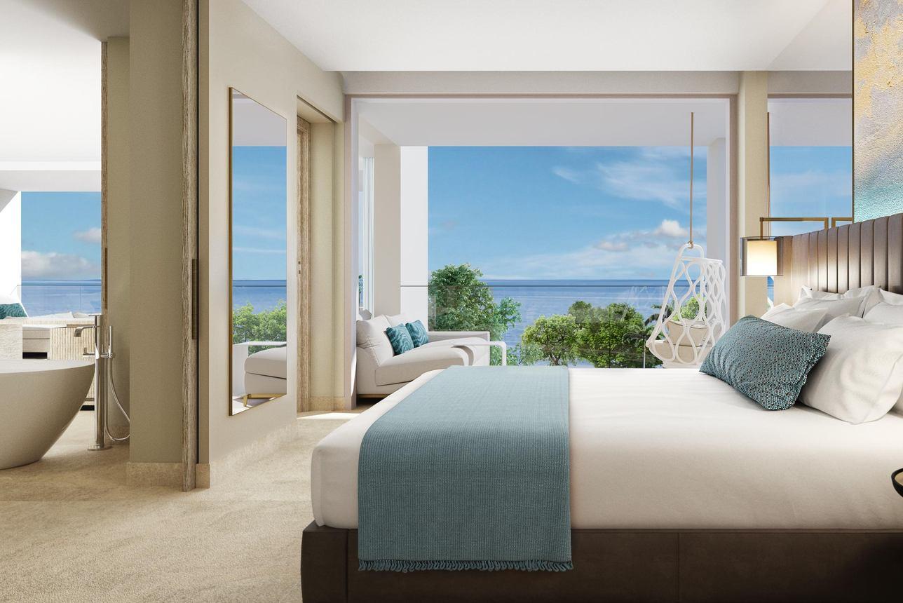 Deluxe Suite-2 slaapkamers Zeezicht