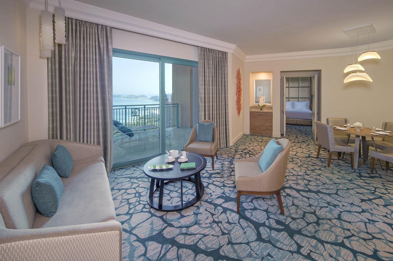 1-slaapkamer Terrace Club Suite